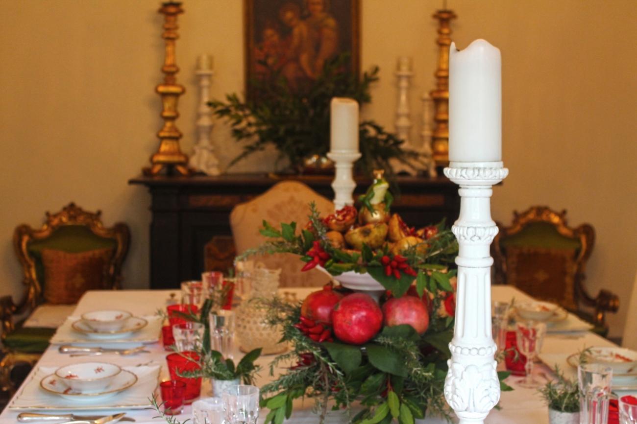 Tavola autunnale tavola invernale decorazioni tavola - Decorazioni d autunno ...