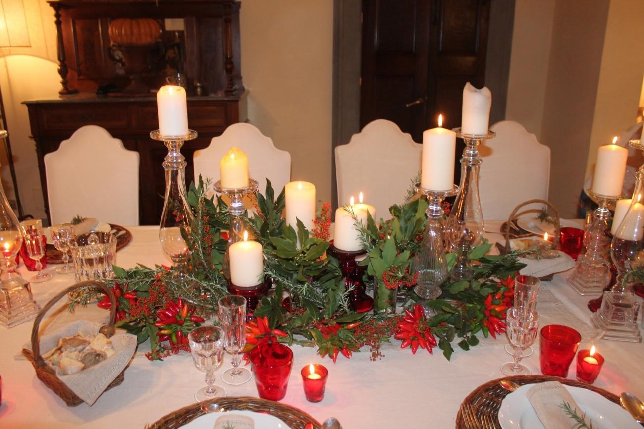 Tavola di natale decorazioni tavola addobbi tavola di - Addobbi natalizi sulla tavola ...