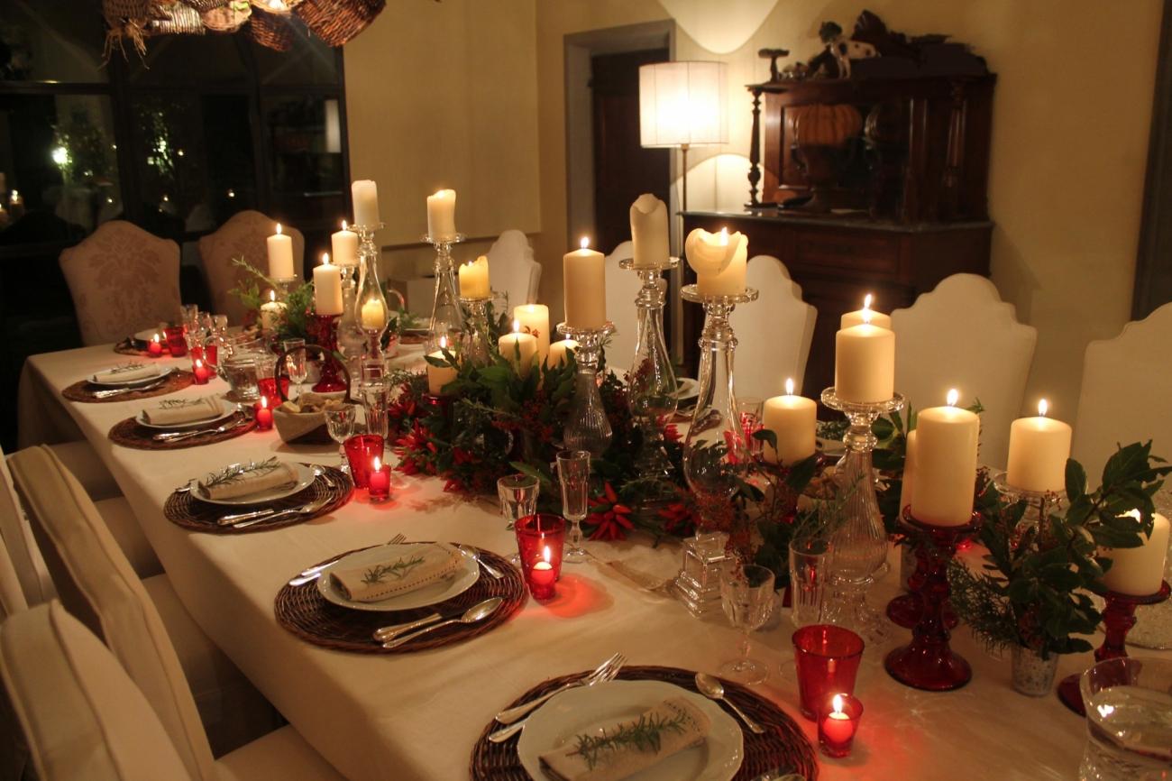 Favoloso Tavola di Natale - decorazioni tavola - addobbi tavola di Natale RZ43