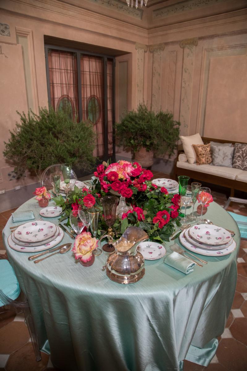 Tavola estiva tavola primaverile decorazioni tavola - Tavole apparecchiate per buffet ...